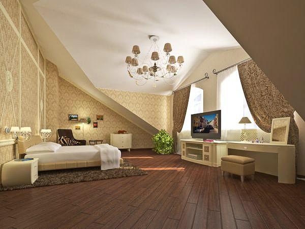 Мансардная спальня2