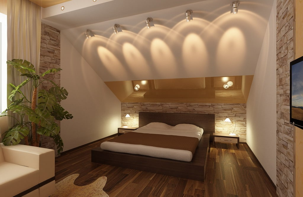 Мансарда потолок дизайн