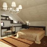 Мансардная спальня4