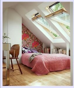 Мансардная спальня8