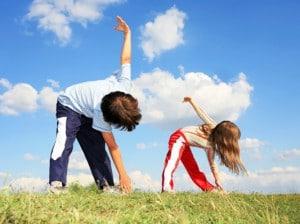 Упражнение против сколиоза для детей2
