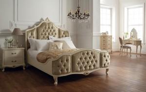 Спальна в стиле рококо