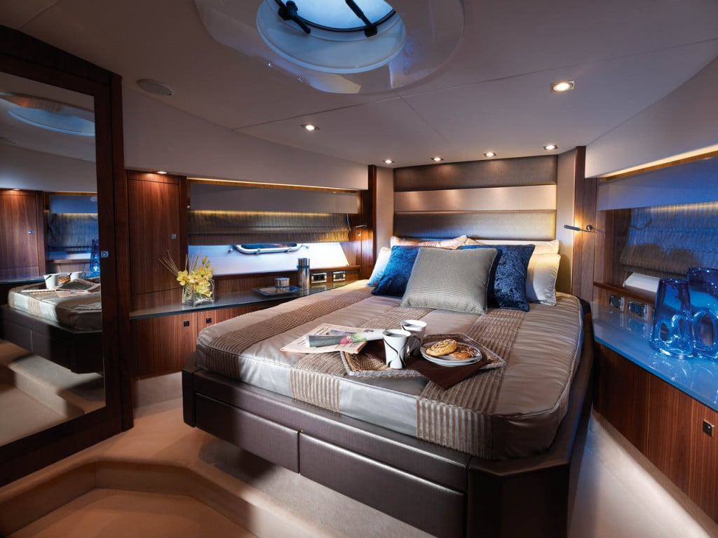 Планировка уникальной спальни