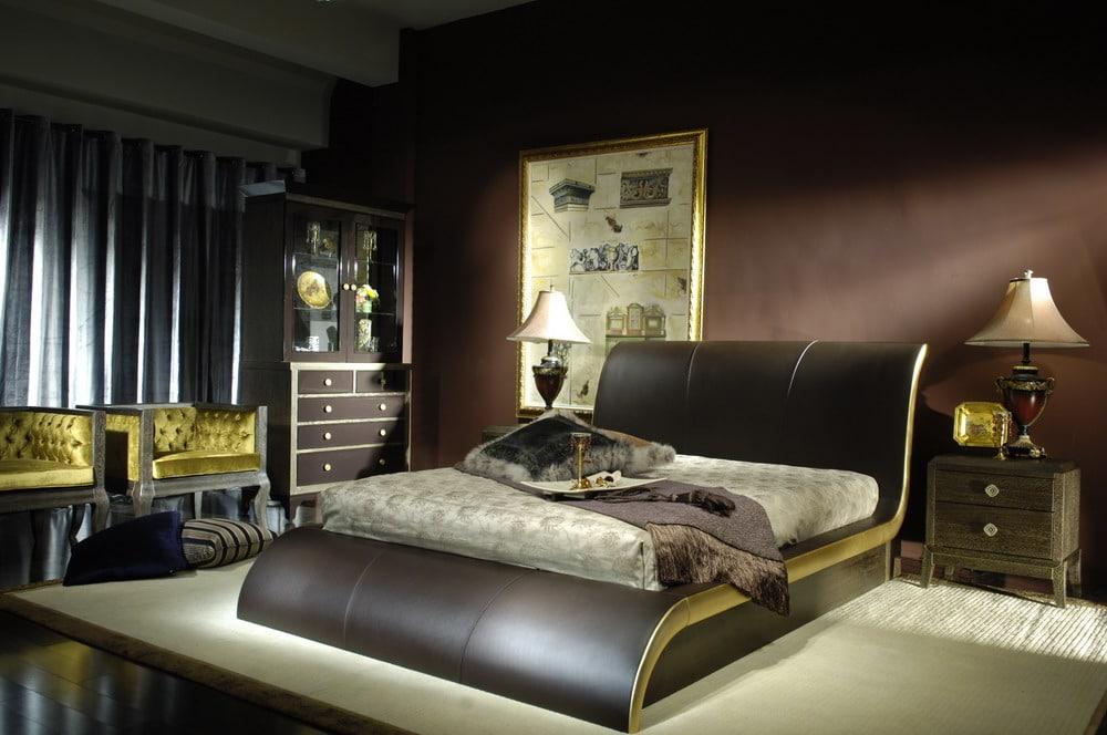 Красивая мебель для спальной