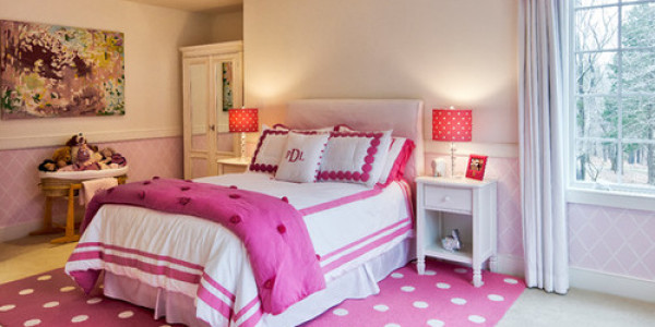 Спальня для девочки 3-6 лет