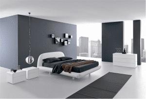 Спальня в силе хай-тек