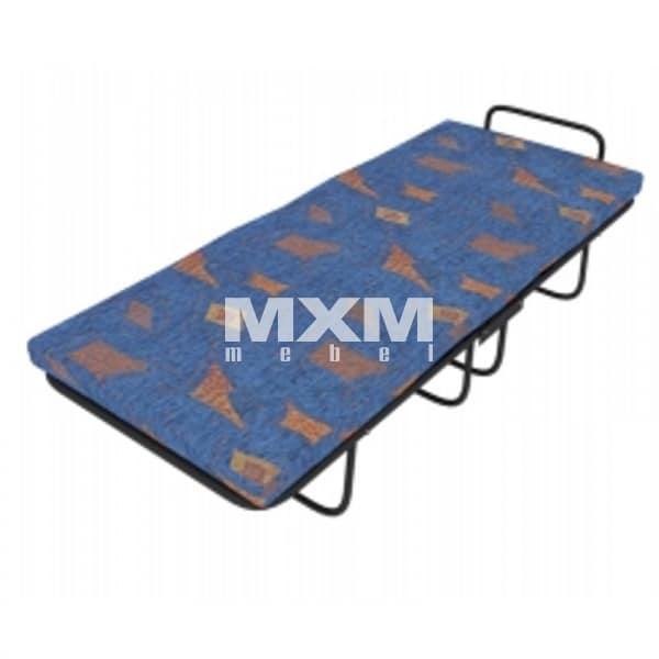 Раскладушка на ламелях с матрасом