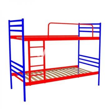 Двоярусні металеві ліжка