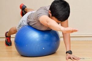 Упражнение против сколиоза для детей