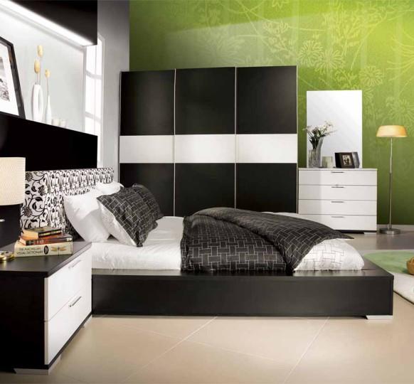 Спальня с мебелью