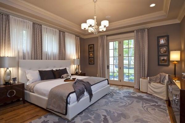 Красивая спальня для дома