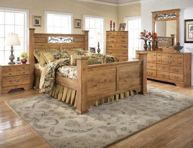 Спальня в стиле кантри2