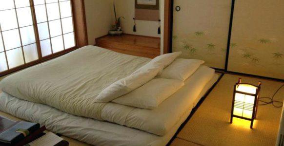 Кровать в японии