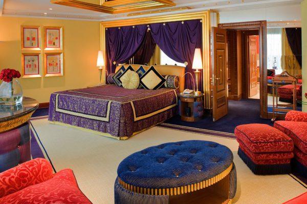 Спальня в арабском стиле для квартиры